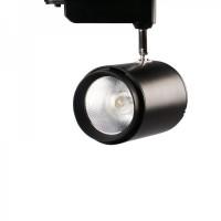 Трековый светильник 20w 220V черный (нейтрального белого свечения)
