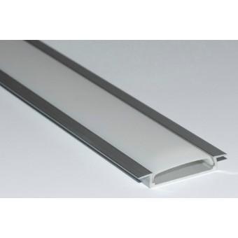 Алюминиевый профиль АP253 30,8х6мм (встраиваемый)