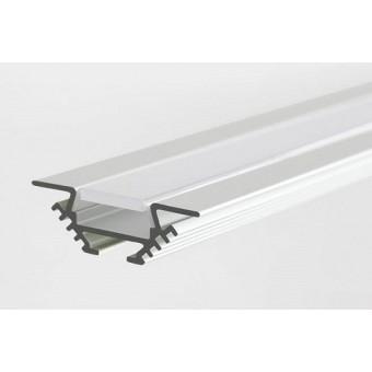 Алюминиевый профиль AP252 13х10,5мм (встраиваемый) 2м.п.