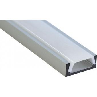Алюминиевый профиль AP261 15х6мм (накладной) 2м.п.