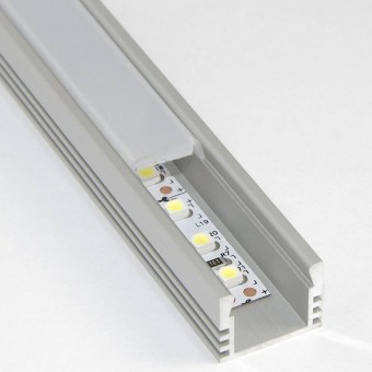Алюминиевый профиль AP262 16х12мм (накладной) 2м.п.