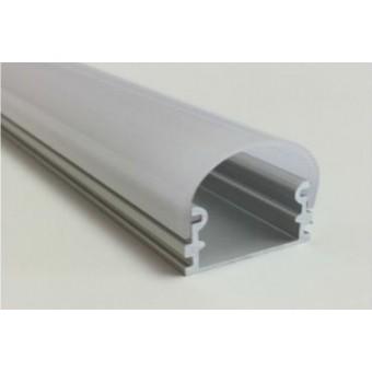 Алюминиевый профиль AP264 21х21мм (накладной) 2м.п.