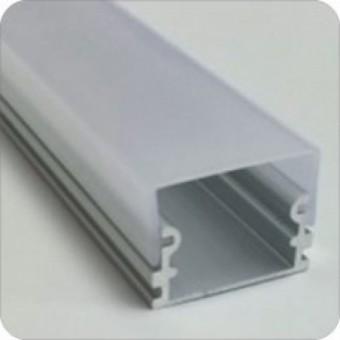 Алюминиевый профиль AP265 21х21мм (накладной) 2м.п.