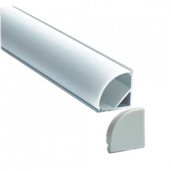 Алюминиевый профиль AP280 16х16мм (угловой)