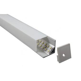 Алюминиевый профиль AP281 16х16мм (угловой) 2м.п.