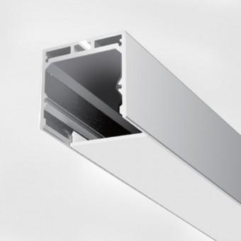 Алюминиевый профиль AP290 35х35мм (подвесной) 2м.п.