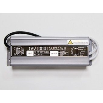 Блок питания 100W 12V 8.3A  IP67 LEDSPOWER
