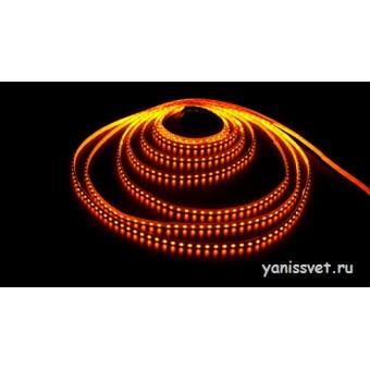 Светодиодная лента SMD 3528/120  IP65  12V 9.6w (желтого свечения) LEDSPOWER