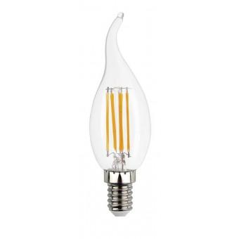 Лампа светодиодная LED С37, E14, 5W (свеча на ветру)