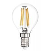 Лампа светодиодная LED P45, E14, 5W (прозрачная)