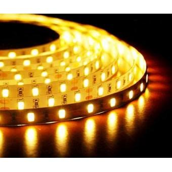 Светодиодная лента SMD 5730/60 12w IP20 12V 3300К (теплого белого свечения) LEDSPOWER
