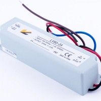 Блок питания 60W  12V  5A  IP67 (в пластиковом корпусе)