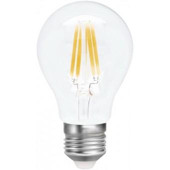 Лампа светодиодная LED А60, E27, 7W (прозрачная)