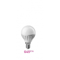 Лампа LED G45 E14 шар  7.5W 2700К (теплого свечения)
