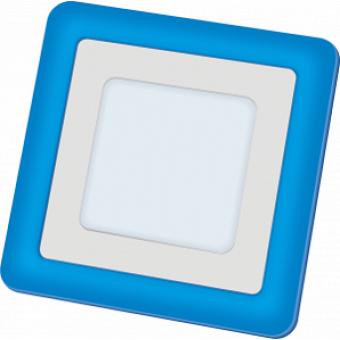 Светильник LED NLP-SC2-6+2W-WB(140×140)