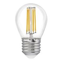 Лампа светодиодная LED P45, E27, 5W (прозрачная)