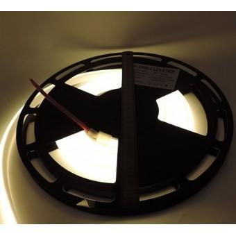 Светодиодная лента SMD 2835/180 IP68 24V 12w термостойкая (теплого белого свечения)