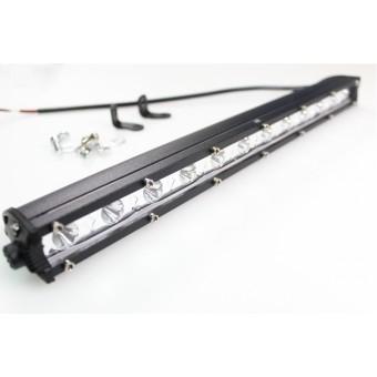 Балка светодиодная рабочего света 36W CREE  (ближний) 12V  однорядная IP67 (холодного белого свечения)