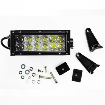 Рабочий LED свет для авто 9036СТ-F (ближний) 36W 10-30V  IP67 (холодного белого свечения)