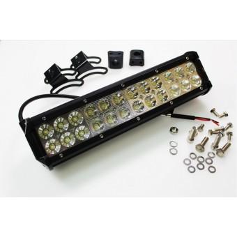 Рабочий LED свет для авто 9072BC-S (дальний) 72W 10-30V  IP67 (холодного белого свечения)
