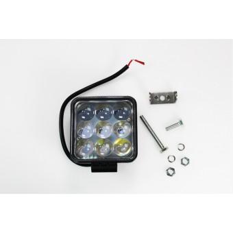 Прожектор LED для авто рабочий свет (дальний) 27W 10-30V  IP67 (холодного белого свечения)