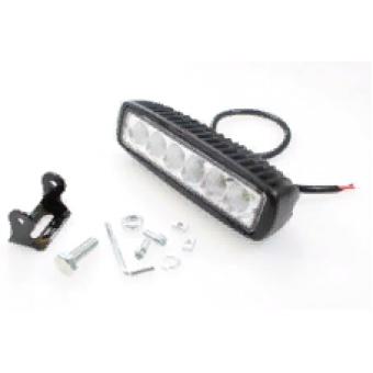 Фонарь LED  рабочего света JF-61618-F (ближний) 18W 10-30V IP67 (холодного белого свечения)