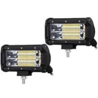 Рабочий LED свет для авто 9172-F (ближний) 72W 10-30V  IP67 (холодного белого свечения)