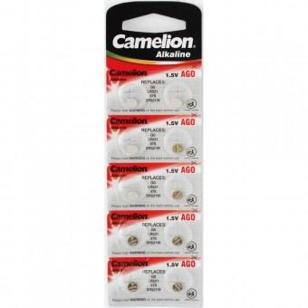 Батарейка LR521 AG0 Camelion alkaline