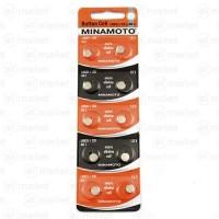Батарейка LR621/321 AG1 Minamoto alkaline