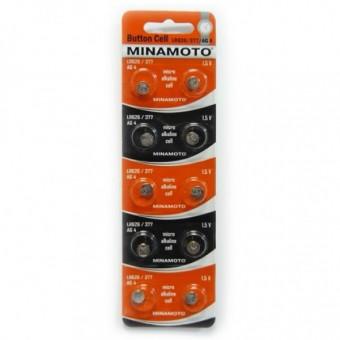 Батарейка LR626/377 AG4 Minamoto alkaline