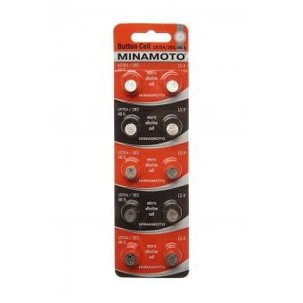 Батарейка LR754/393 AG5 Minamoto alkaline