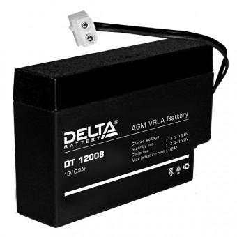 Аккумулятор Delta DT12008 12V  Delta