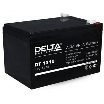 Аккумулятор Delta DT1212 12V  Delta