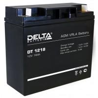 Аккумулятор Delta DT1218 12V