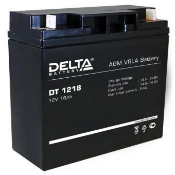 Аккумулятор Delta DT1218 12V  Delta