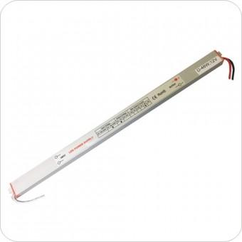 Блок питания для светодиодной ленты 12 В 48W 4A  IP44 (узкие) LEDSPOWER