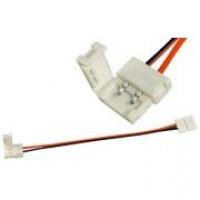 LED клипса 5050 с проводом двухсторонняя