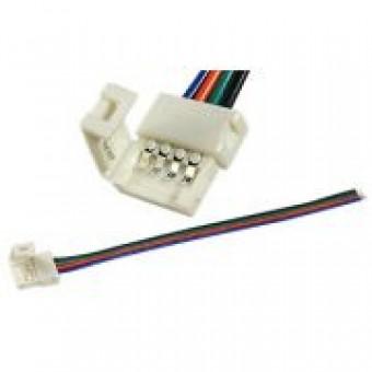 LED клипса RGB с проводом односторонняя