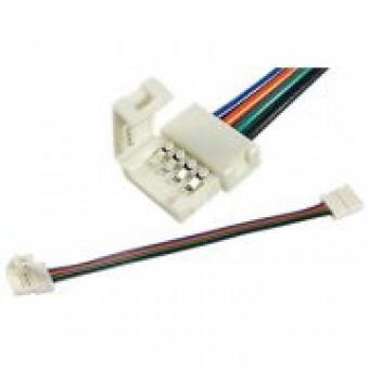 LED клипса RGB с проводом двухсторонняя