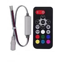 Контроллер RGB R130 mini RF 72W/144W 12/24V 6А LEDSPOWER