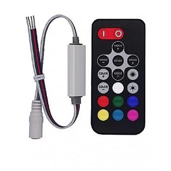 Контроллер RGB R130 mini RF 72W/144W 12/24V 6А