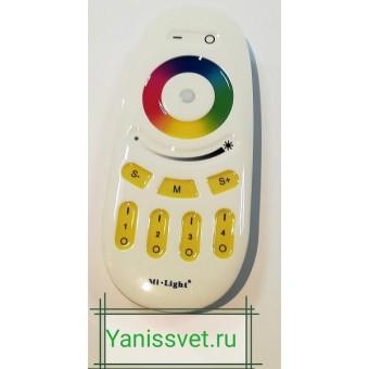 Пульт FUT096 4-х зонный для приемника (контроллера) FUT038 Mi Light