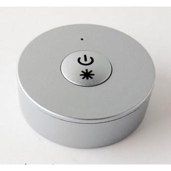Мини радио пульт DESK-MINI-W (серебро) с возможностью диммирования на 1 зону