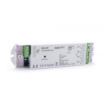 Универсальный приемник-контроллер RX-ST для светодиодных лент RGB, MIX, RGB+W