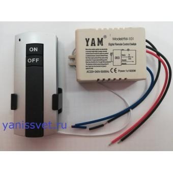 Выключатель на 1 зону 220V 1000W LEDSPOWER