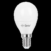 Лампа светодиодная 7.5W E14 шар 6500К (холодного белого свечения)