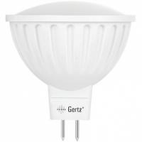Лампа светодиодная  7.5W  MR16 GU5.3  3300K (теплого белого свечения)