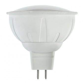 Лампа светодиодная  6W  MR16 GU5.3  3300K (теплого белого свечения)