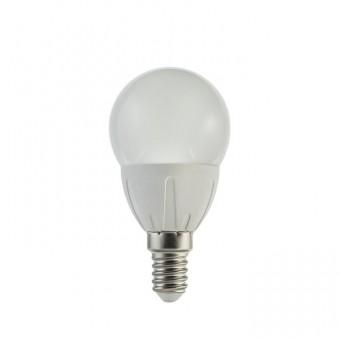 Лампа светодиодная  6W  E14 шар 3300 (теплого белого свечения)