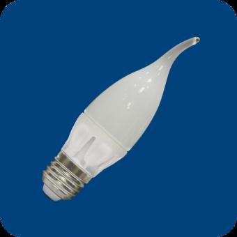 Лампа светодиодная 6W E27 свеча на ветру 4000К (нейтрального белого свечения)
